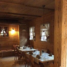 Wohnbereich aus Altholz