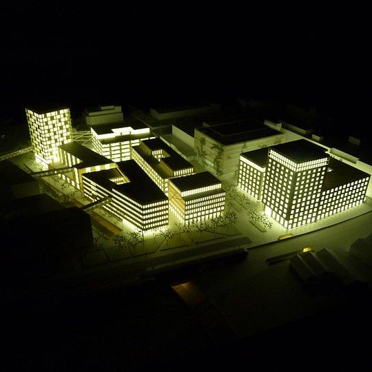 Architekturmodell 1:500