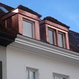 Spengler und Flachdacharbeiten Gotthardstrasse Basel.
