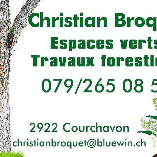 Christian Broquet paysagiste Sàrl