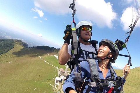 Tandem Paragliding Ticino