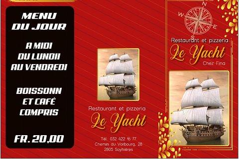 Restaurant Pizzeria Le Yacht (Menu du Jour)