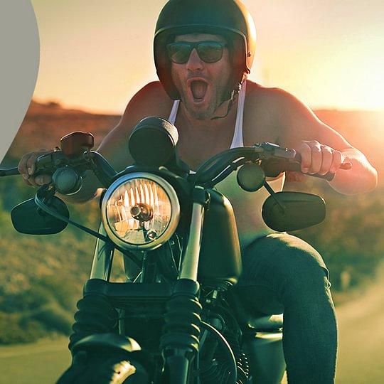Gehörschutz z.B für Motorradfahrer