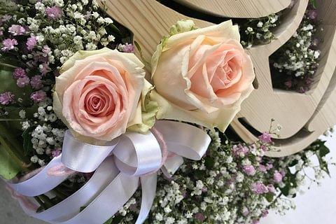 Hochzeitsfloristik individuell gestaltet