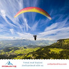 Paragliding in Interlaken organised by Switzerland Tour