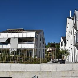 Wohnen im familiären Umfeld, beispielsweise in einer Eigentumswohnung in Gähwil.