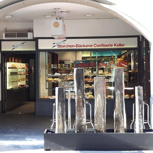 Storchenbäckerei - an der Schauplatzgasse in Bern