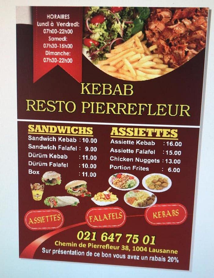 Kebab Resto Pierrefleur