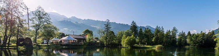 Forellensee Gstaad-Zweisimmen 'Im Einklang mit den Elementen'