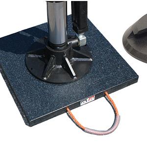 Abstützplatten aus UV-beständigem Regenerat, PE 500