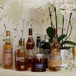 Feine Single Malt Whisky Auswahl