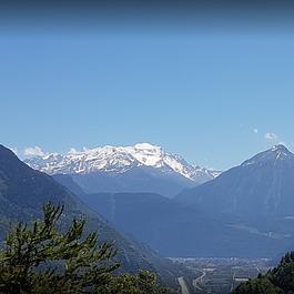 la vue alpine