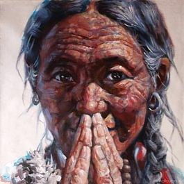 Namaste. Au Tibet, la création artistique est intimement liée à la pratique religieuse.