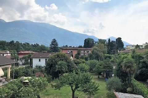 Grosse 2-Zimmerwohnungn mit Balkon in Nähe von Lido und Golfplatz in Ascona