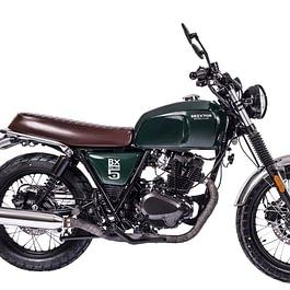 Brixton BX 125 Classic grün, Neufahrzeug, Fahrbereit für nur 3'990.- Franken.