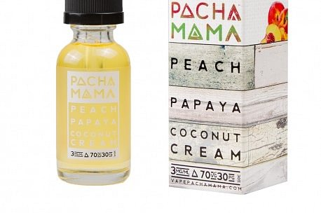 Peach Papaya Coconut Cream - Pacha Mama