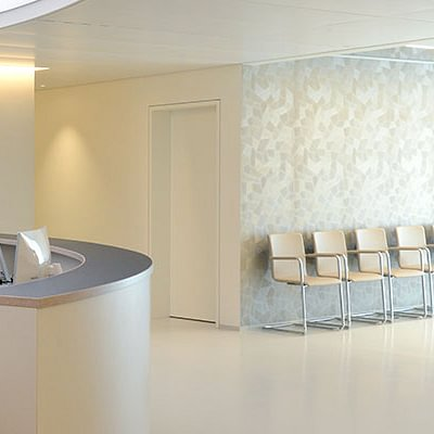 Empfang Augenzentrum Pallas Solothurn
