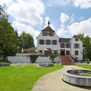 Schloss Binningen vom Park
