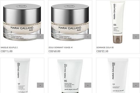 Peeling / Maske – Kosmetikprodukte