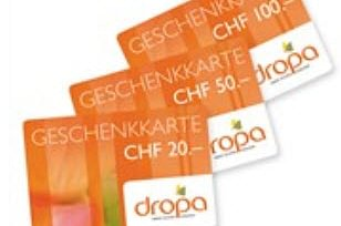 DROPA Geschenkkarten