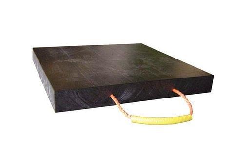 Kunststoff - Abstützplatten für Kran-Stützfüsse