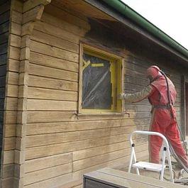 Sablage - aérogommage du bois