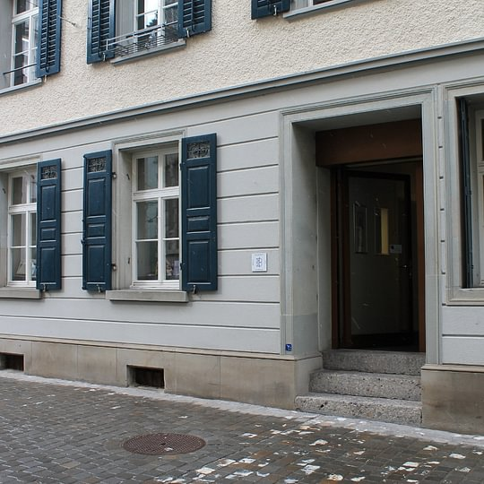 Buchbinderei Einrahmerei Bettina Zeitz St. Gallen Eingang