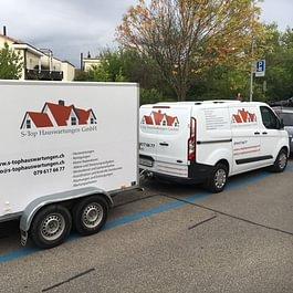 Fahrzeug mit Anhänger