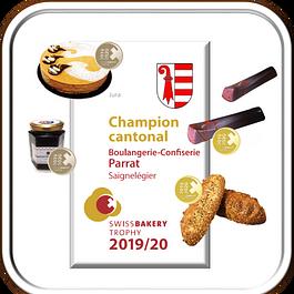 champion cantonal SWISS BAKERY TROPHY 2017-18 / 2019/20