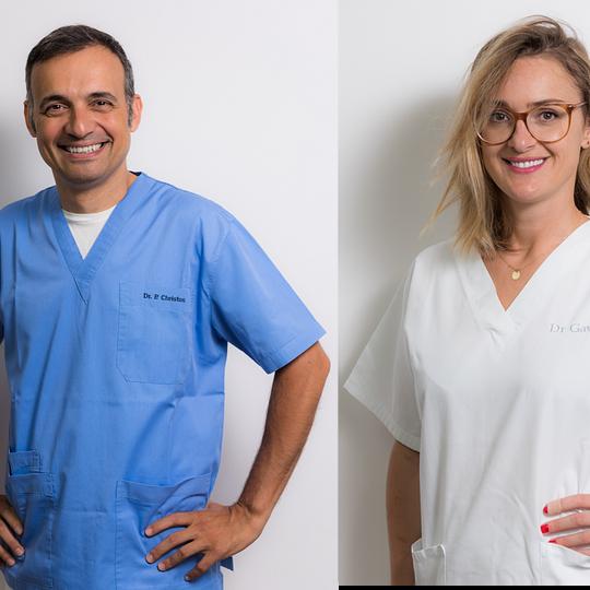 Dr P. Christou, Dr J. Gavric