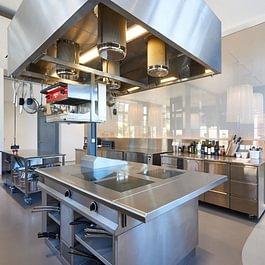 Küche, Kochwerkstatt