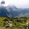 Scenic Ride in the Alps