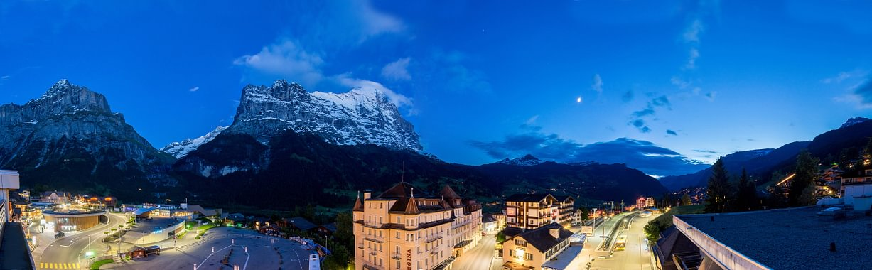 Eiger view by night