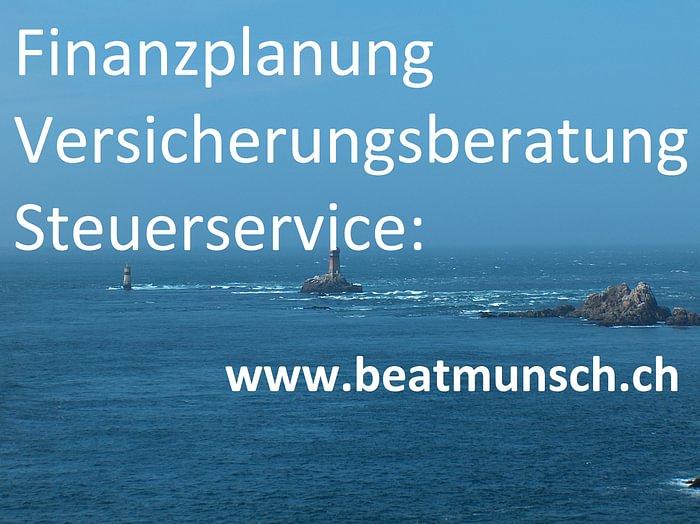 Beat Munsch - Finanzplanung. Versicherungsberatung. Steuerservice