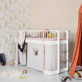 Oliver furniture halbhohes Bett Wood