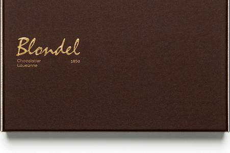 Blondel.ch truffes et pralinés 12 pc