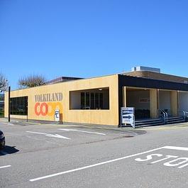 Provisorium für Einkaufszentrum