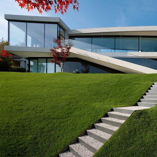 Villa am See - Fassadensystem StoneFix
