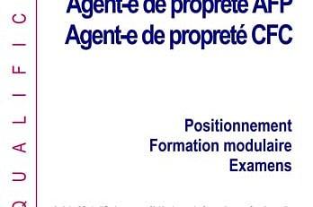 AFP et CFC Agent-e de propreté