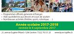 Inscription : Année scolaire 2017-2018