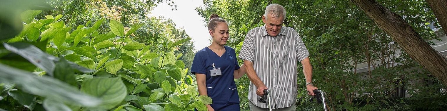 Diaconis Wohnen-Pflege Spaziergang