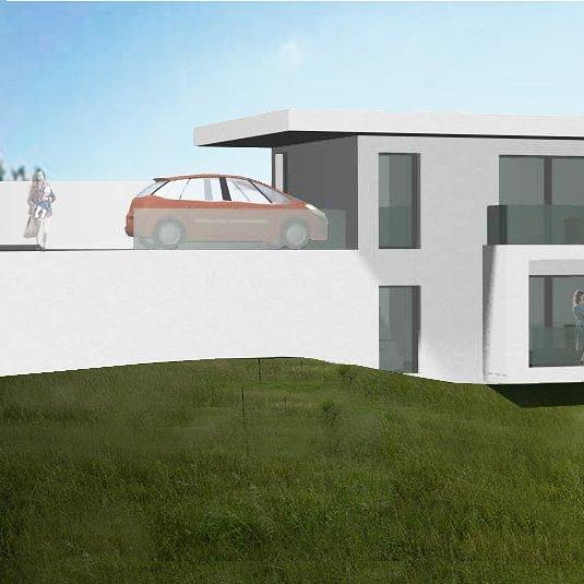 Maison de 2 appartements à construire