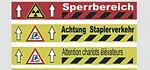 Markierungen - Bodenmarkierungsbänder