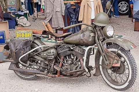 Restauration: Royal Enfield, Lambretta, Harley-Davidson, BMW