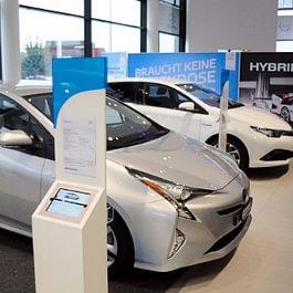 Toyota Showroom innen