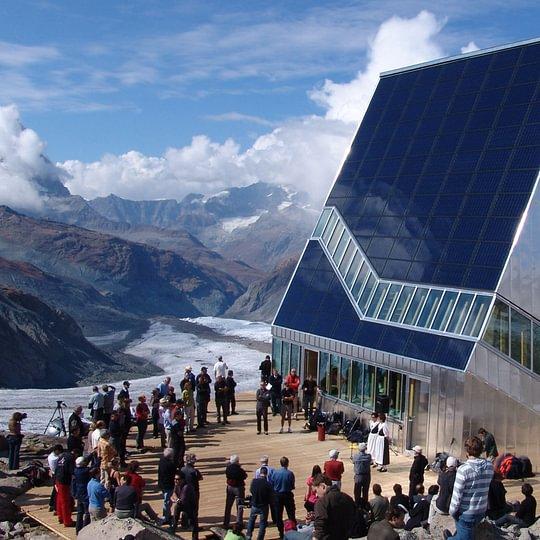 SAC Hütte Monte Rosa | HPG alpin® Dachfenster-Element