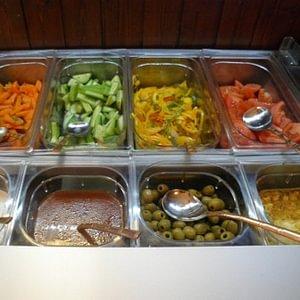 indisches buffet