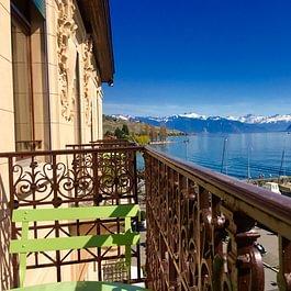 Magnifique vue sur le lac Léman