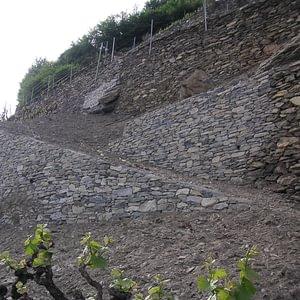 Murs de vignes et pierres sèches