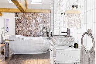 Création de salle de bains